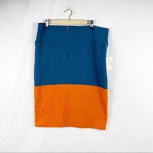 LULAROE Cassie Pencil Skirt NWT in Size 2XL